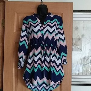 Justify size medium blouse
